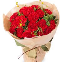 카네이션 꽃다발(코사지별도)